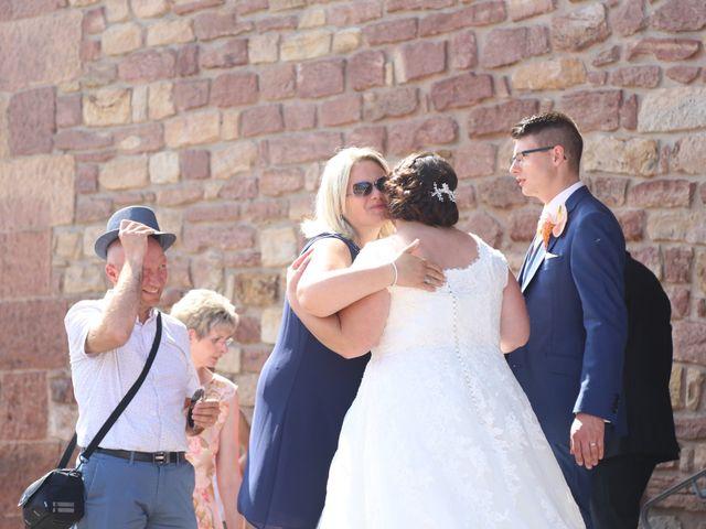 Le mariage de Gael et Delphine à Offendorf, Bas Rhin 44