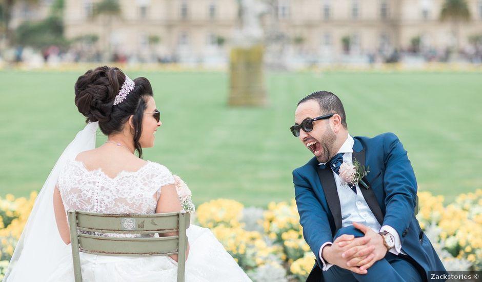 Le mariage de Beshoy et Simona à Paris, Paris