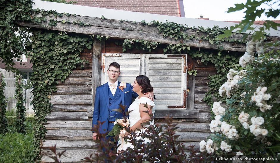 Le mariage de Gael et Delphine à Offendorf, Bas Rhin