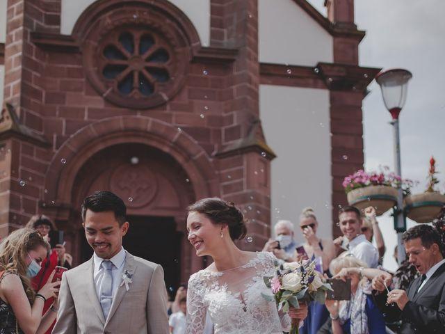Le mariage de David et Ophélie à Strasbourg, Bas Rhin 32
