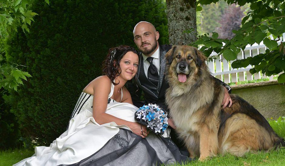 Le mariage de Yann et Mégane  à Damprichard, Doubs