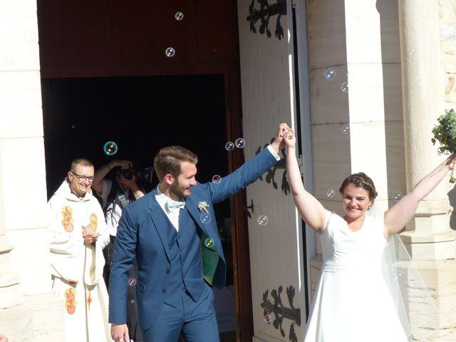 Le mariage de François et Laure à Vonnas, Ain 7