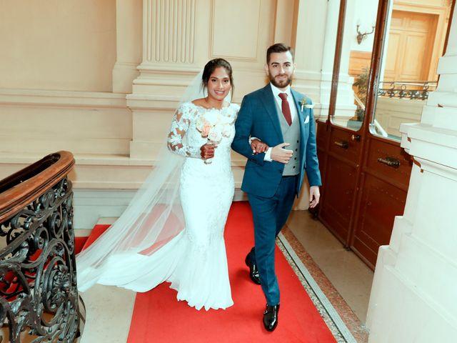 Le mariage de Amir et Chafika à Paris, Paris 6