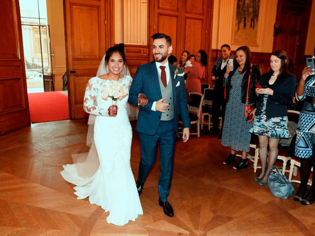 Le mariage de Amir et Chafika à Paris, Paris 7