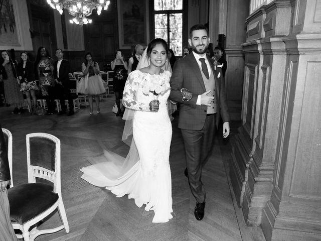 Le mariage de Amir et Chafika à Paris, Paris 8