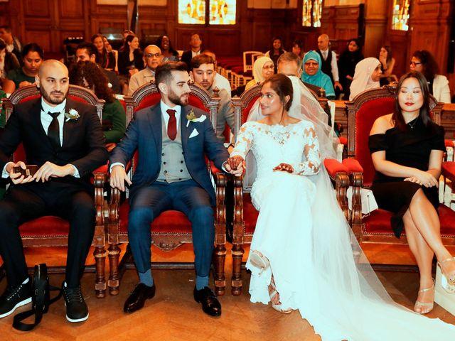 Le mariage de Amir et Chafika à Paris, Paris 9