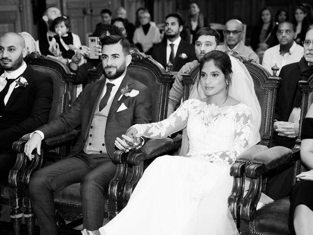Le mariage de Amir et Chafika à Paris, Paris 10