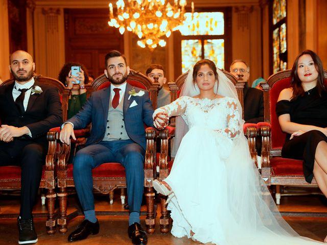 Le mariage de Amir et Chafika à Paris, Paris 11