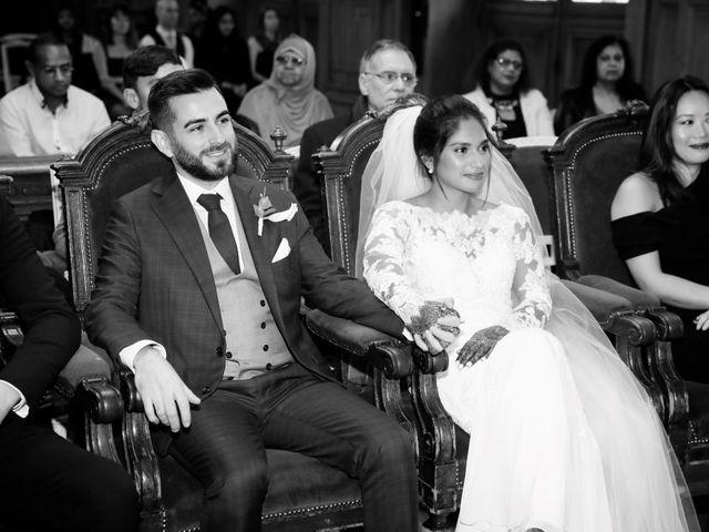 Le mariage de Amir et Chafika à Paris, Paris 12