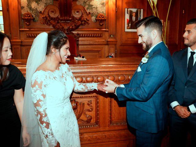 Le mariage de Amir et Chafika à Paris, Paris 14