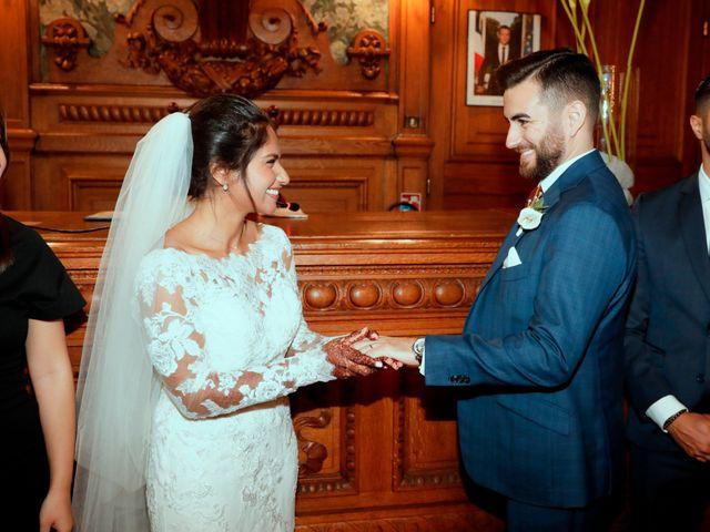 Le mariage de Amir et Chafika à Paris, Paris 15