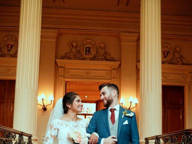 Le mariage de Amir et Chafika à Paris, Paris 17