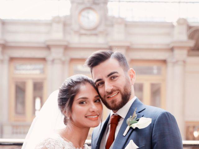 Le mariage de Amir et Chafika à Paris, Paris 21