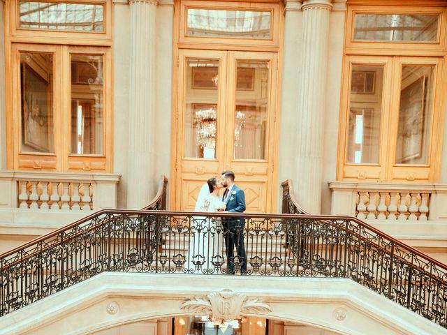 Le mariage de Amir et Chafika à Paris, Paris 22