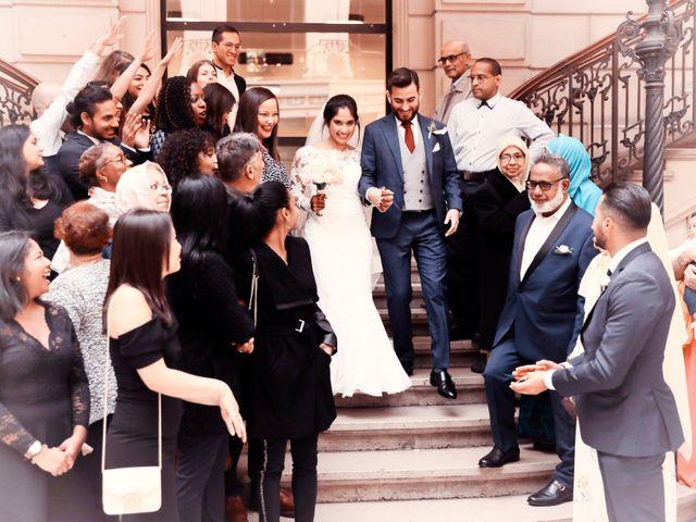 Le mariage de Amir et Chafika à Paris, Paris 24