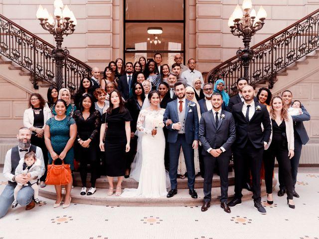 Le mariage de Amir et Chafika à Paris, Paris 25