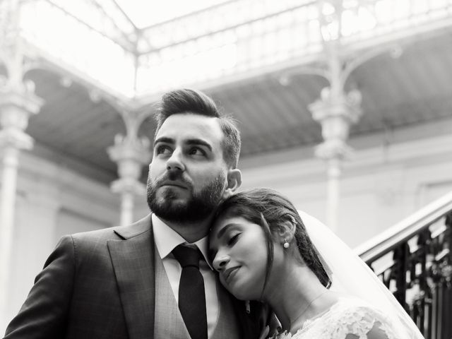 Le mariage de Amir et Chafika à Paris, Paris 28