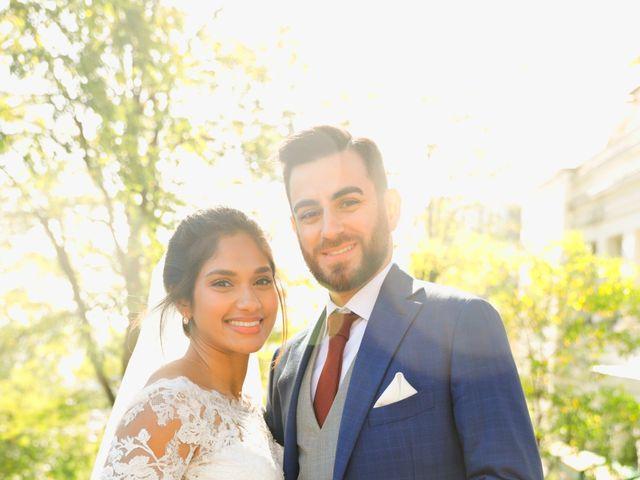Le mariage de Amir et Chafika à Paris, Paris 32