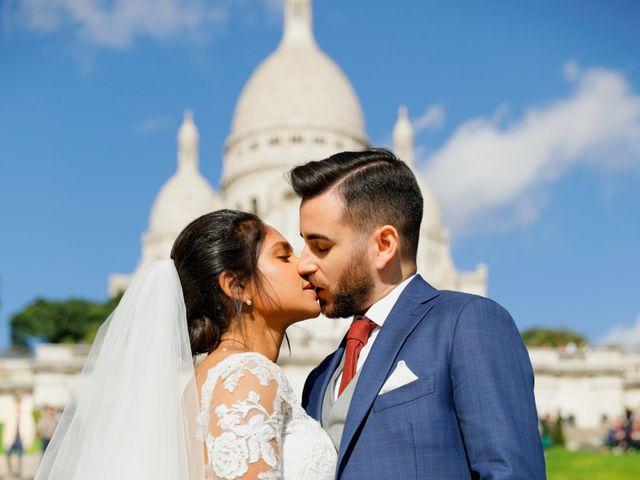 Le mariage de Amir et Chafika à Paris, Paris 33
