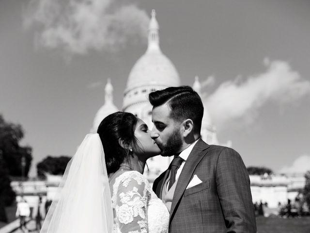 Le mariage de Amir et Chafika à Paris, Paris 34