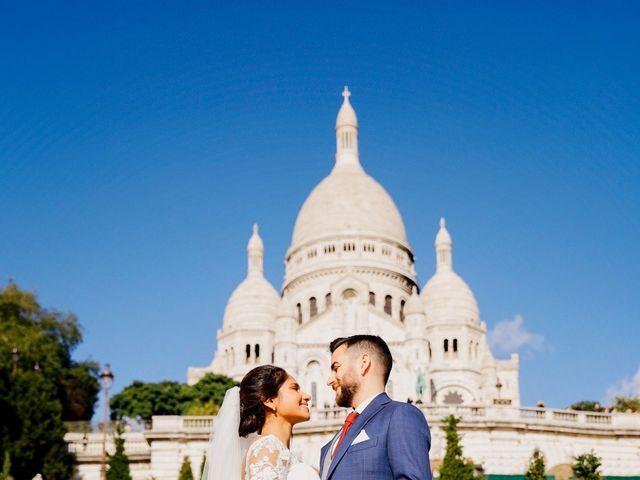Le mariage de Amir et Chafika à Paris, Paris 35