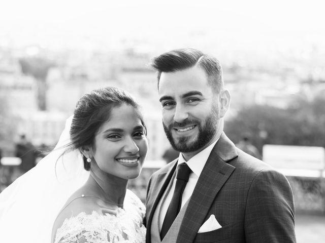 Le mariage de Amir et Chafika à Paris, Paris 37