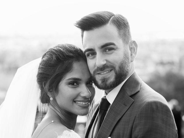 Le mariage de Amir et Chafika à Paris, Paris 40