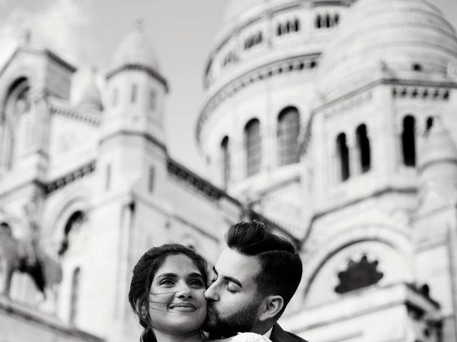 Le mariage de Amir et Chafika à Paris, Paris 41