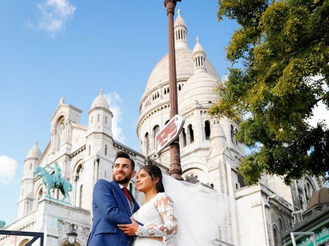Le mariage de Amir et Chafika à Paris, Paris 44