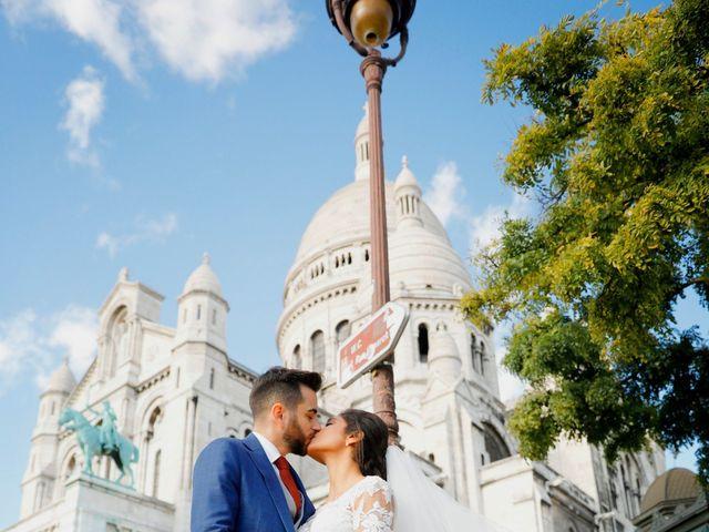 Le mariage de Amir et Chafika à Paris, Paris 45