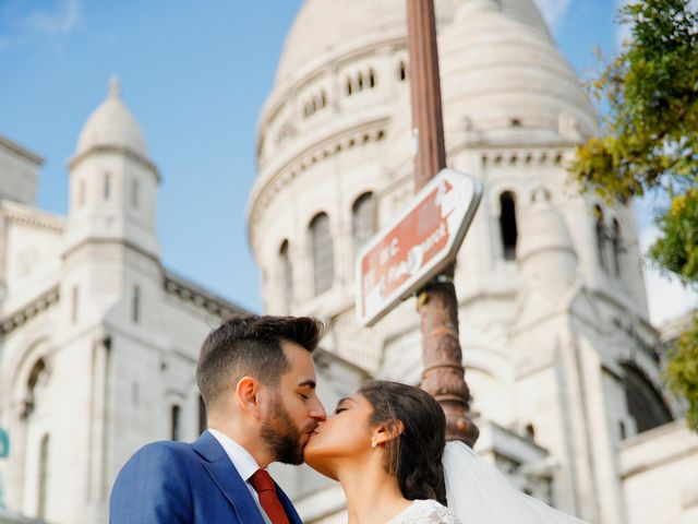 Le mariage de Amir et Chafika à Paris, Paris 46
