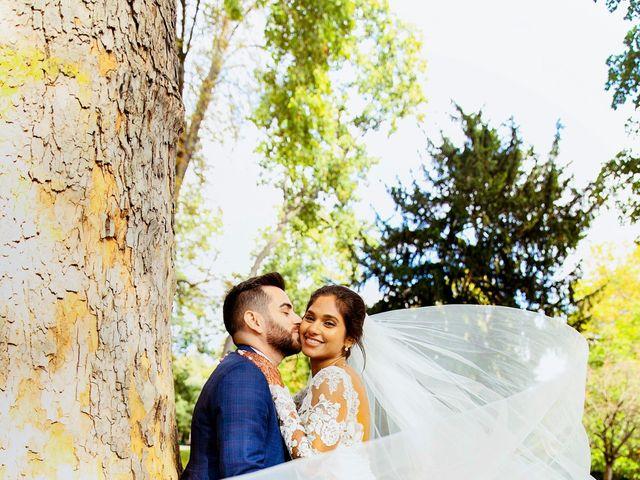 Le mariage de Amir et Chafika à Paris, Paris 47