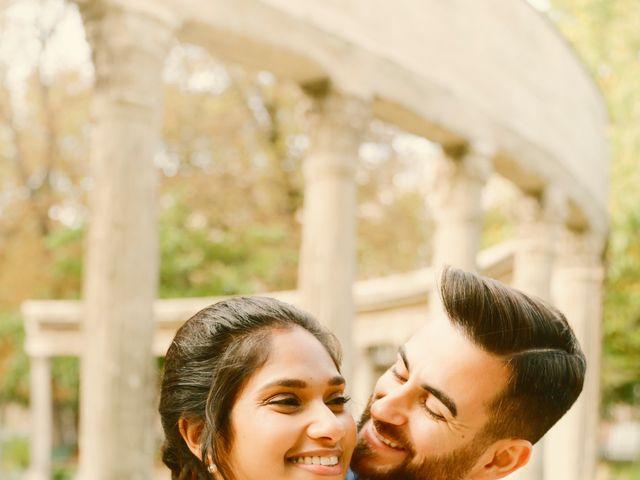 Le mariage de Amir et Chafika à Paris, Paris 51