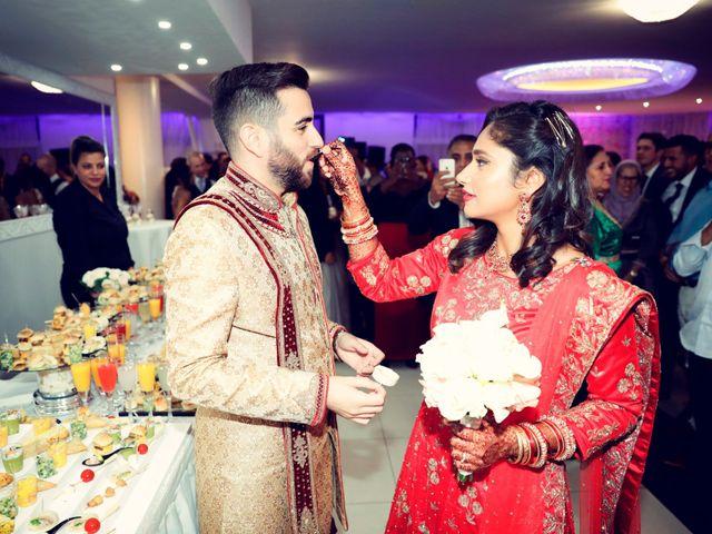 Le mariage de Amir et Chafika à Paris, Paris 54