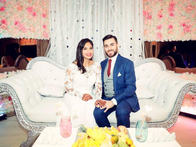 Le mariage de Amir et Chafika à Paris, Paris 56