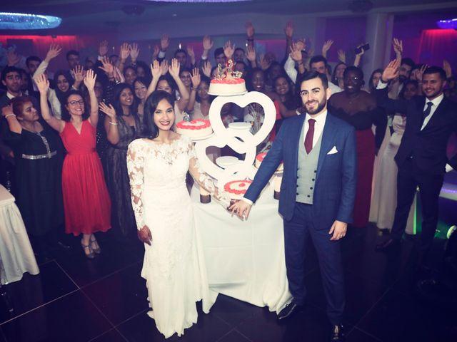 Le mariage de Amir et Chafika à Paris, Paris 62