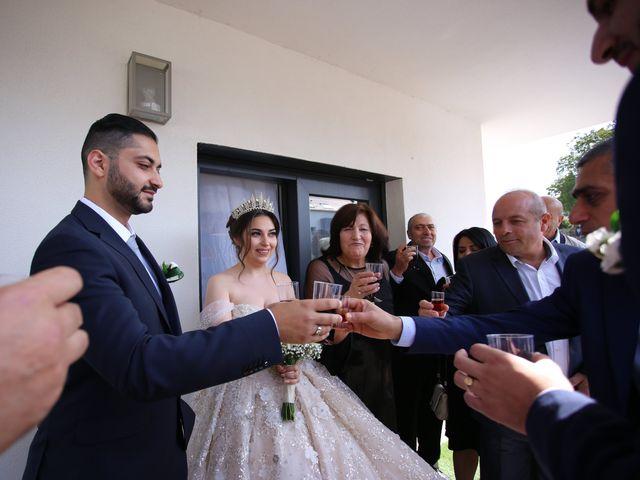 Le mariage de Liana et Hrant à Strasbourg, Bas Rhin 37