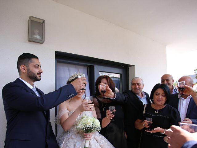 Le mariage de Liana et Hrant à Strasbourg, Bas Rhin 38