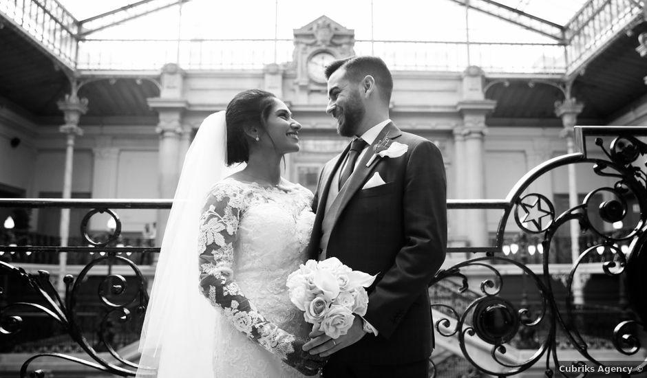 Le mariage de Amir et Chafika à Paris, Paris