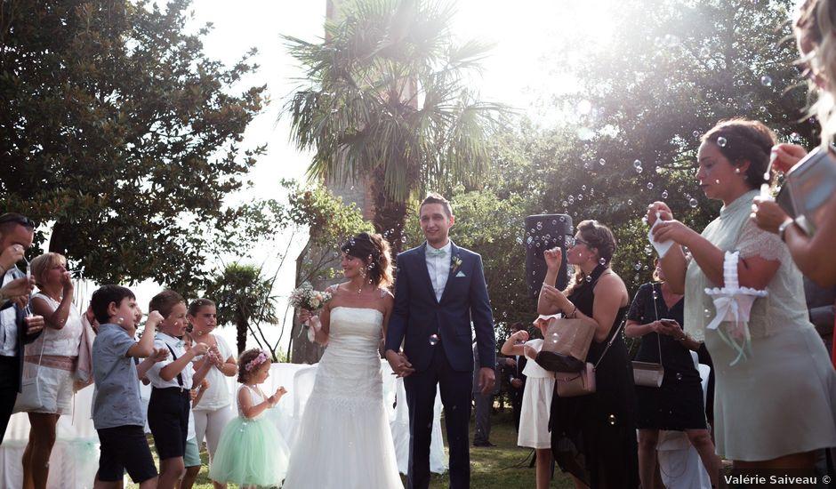 Le mariage de Cédric et Katia à Saint-Lon-les-Mines, Landes