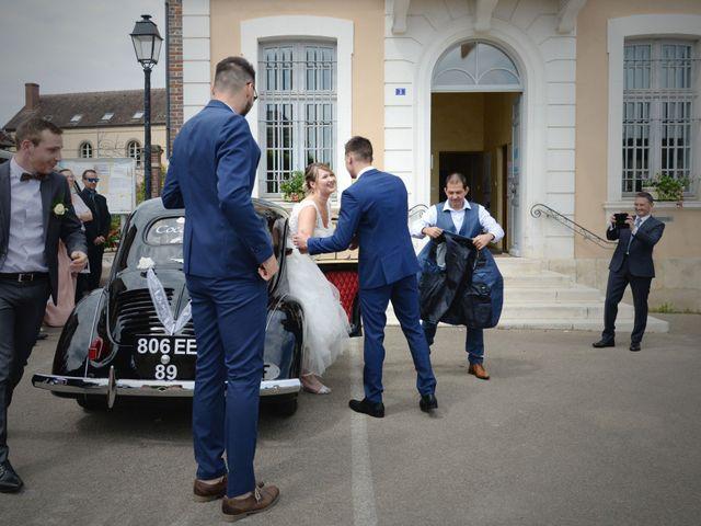 Le mariage de Corentin et Laurine à Bussy-en-Othe, Yonne 5