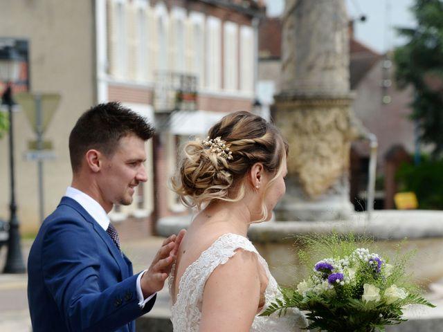 Le mariage de Corentin et Laurine à Bussy-en-Othe, Yonne 7