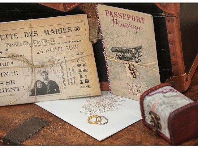 Le mariage de Pascal et Ombeline à Pontarmé, Oise 9