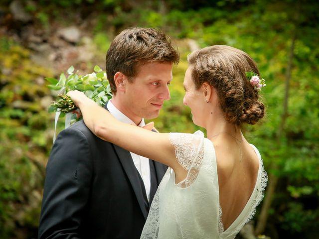 Le mariage de Florian et Marion à Remiremont, Vosges 54