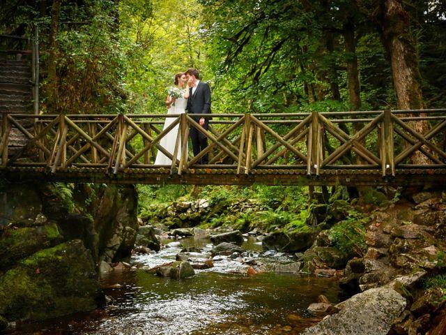 Le mariage de Florian et Marion à Remiremont, Vosges 1