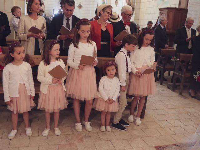 Le mariage de Foucauld et Hélène à Cussay, Indre-et-Loire 57