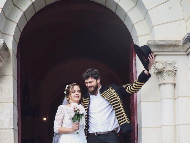 Le mariage de Foucauld et Hélène à Cussay, Indre-et-Loire 76