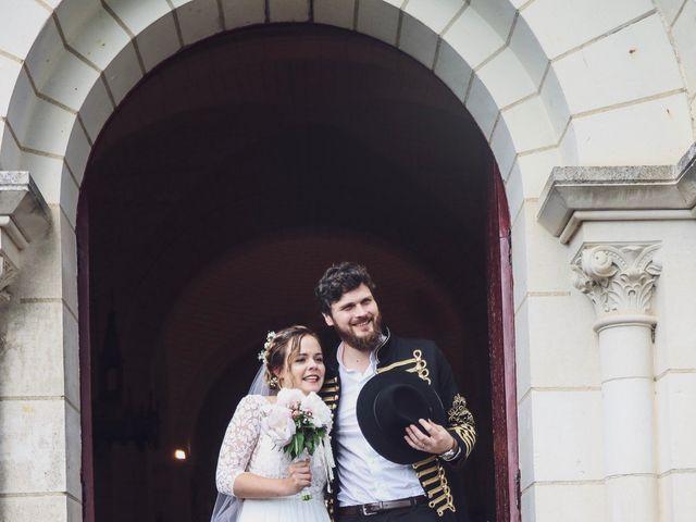 Le mariage de Foucauld et Hélène à Cussay, Indre-et-Loire 77