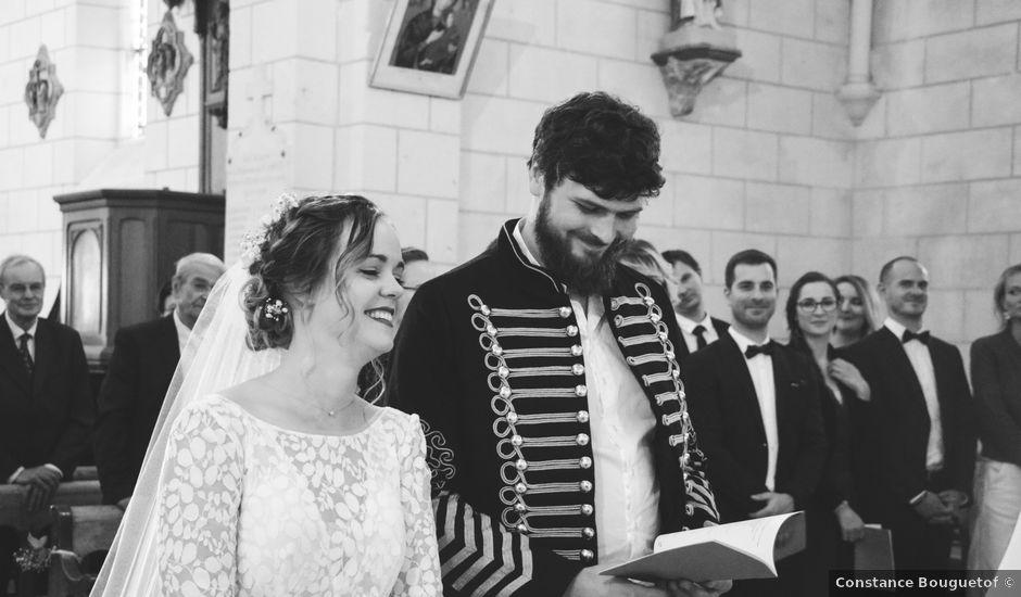 Le mariage de Foucauld et Hélène à Cussay, Indre-et-Loire