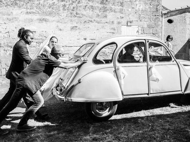 Le mariage de Jolberto et Mélanie à Izon, Gironde 10